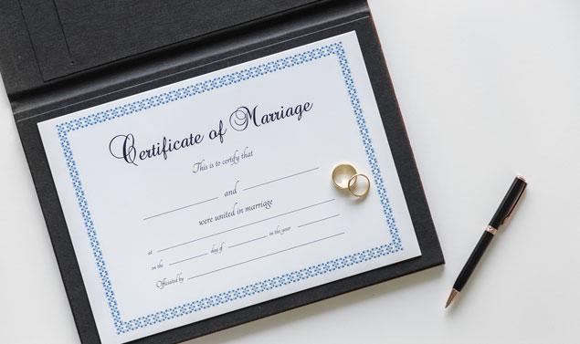 Demander un jugement d'autorisation d'inscription tardive de mariage